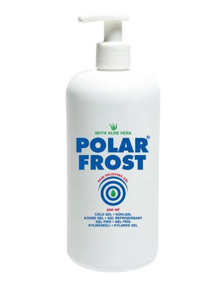 Flaske med pumpe 500ml